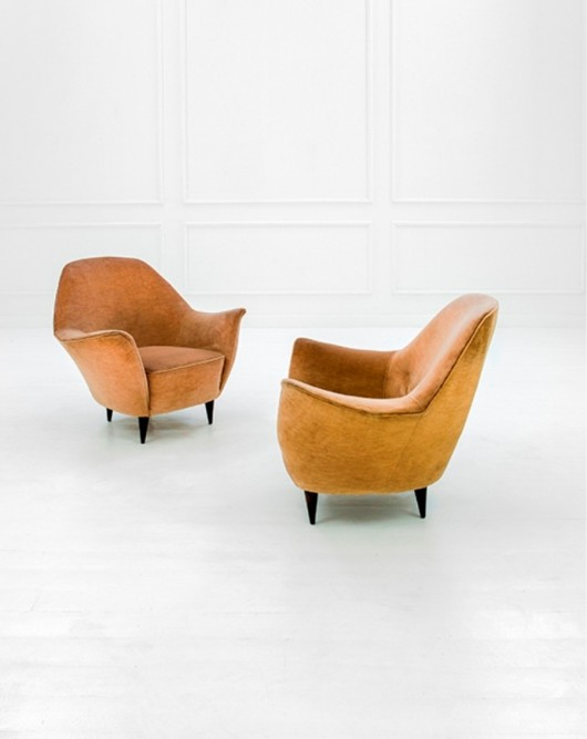 Ico Parisi Poltrone.Moioli Gallery 1950 S Pair Of Ico Parisi Armchairs Sold